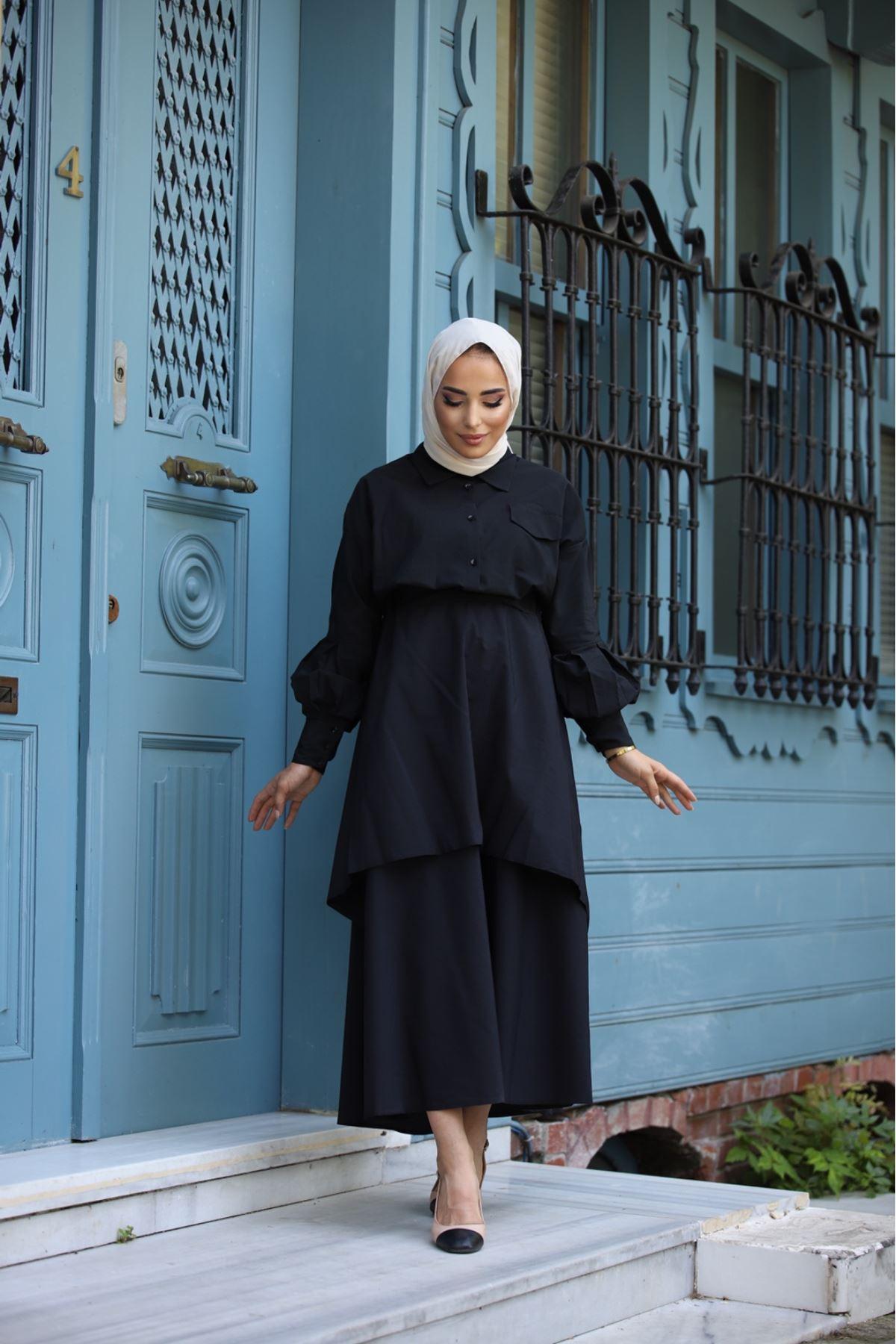 Takım elbise  - Siyah