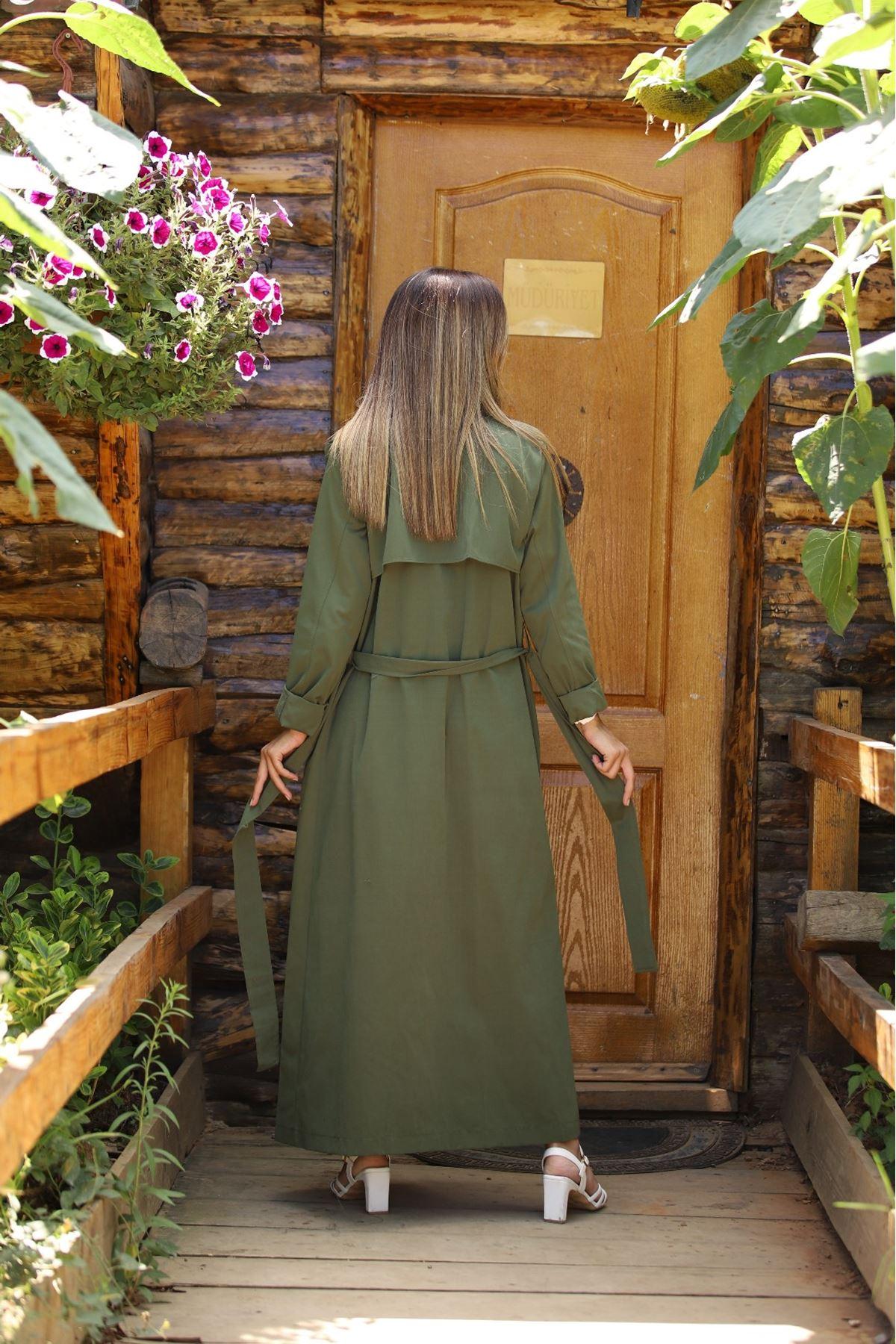 3083 TRENÇ BENAR - Yeşil