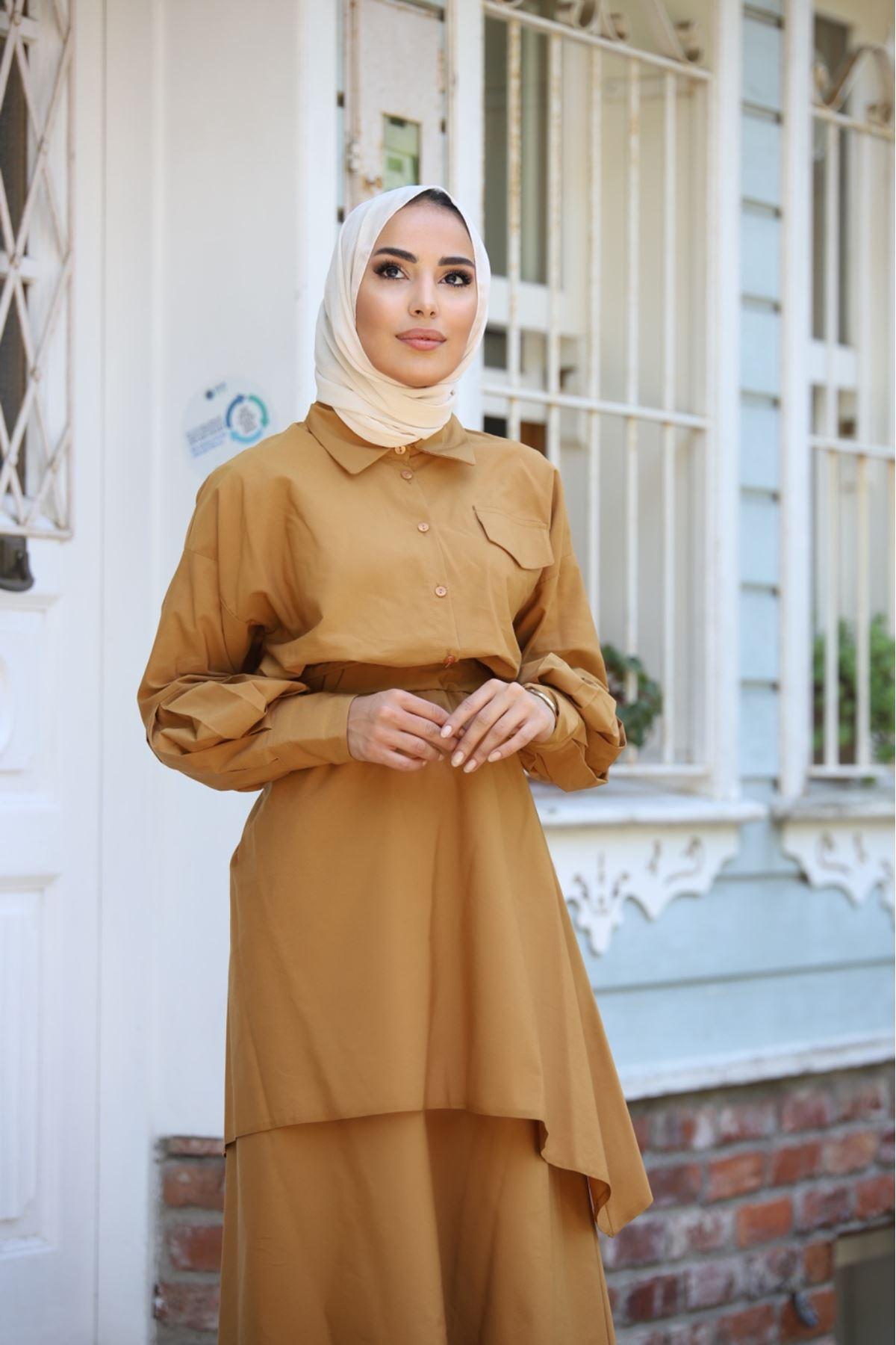 Takım elbise  - Hardal